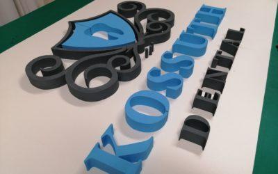 HABKÖNNYŰ dekoráció – 3D logó és felirat
